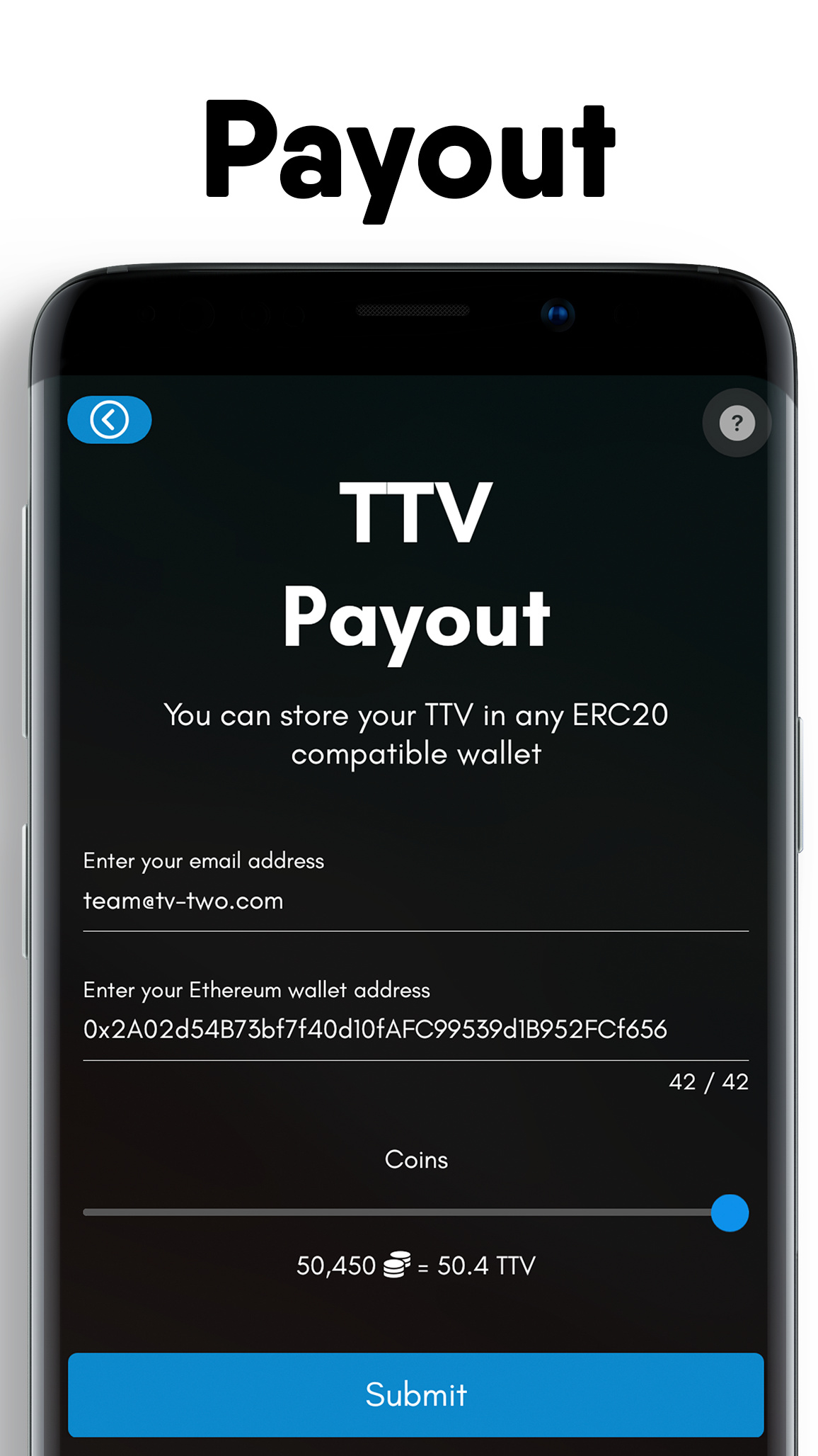 TV-TWO: Entertainment Ecosystem on the Blockchain