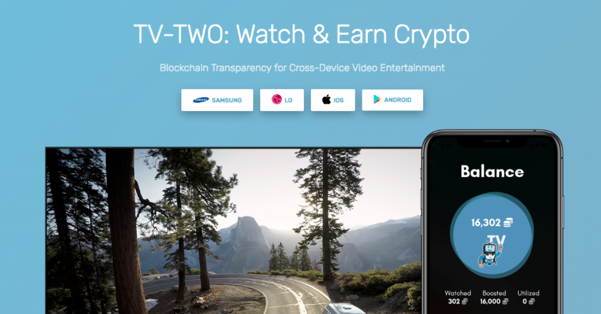 TV-TWO: Watch & Earn Crypto